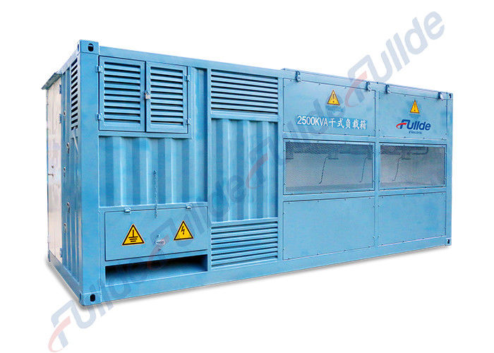 390V / 690V Blue Color Resistive Reactive Load Bank For Inverter Testing