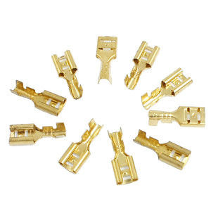 Fire Resistant Components Used In Electronics , Brass Compression Fittings