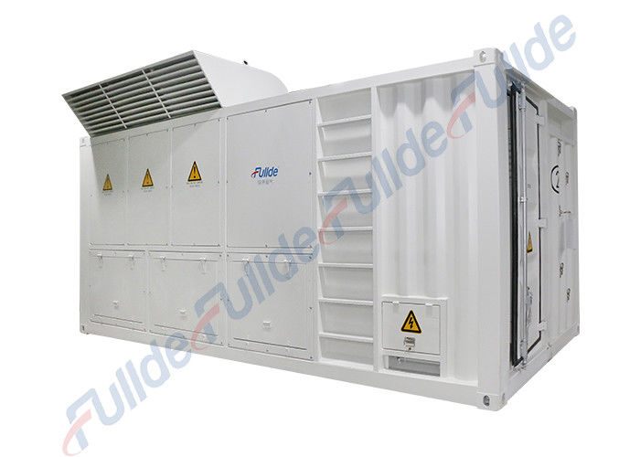 Fullde 1800KW Grey Color Generator Load Bank Local Manual Control